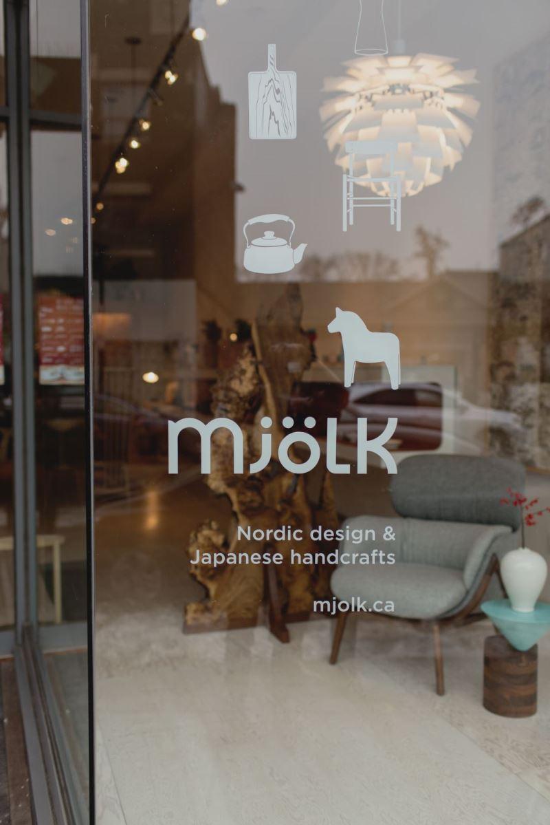 la galerie mjolk vitrine du design scandinave - index-design.ca - Boutique Design Scandinave Meubles
