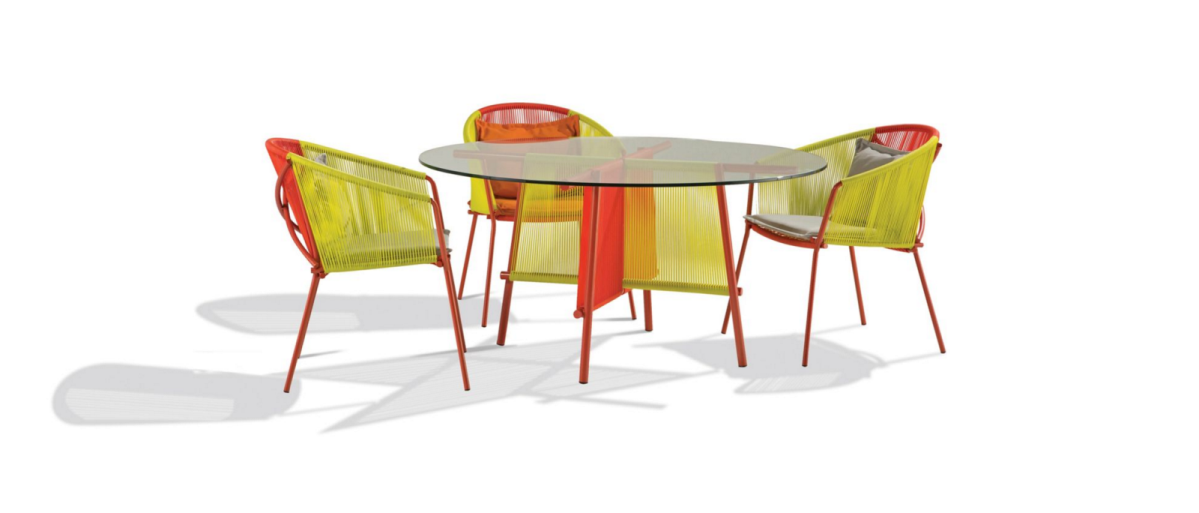 Traveler une collection de mobilier ext rieur pour roche for Mobilia meubles montreal