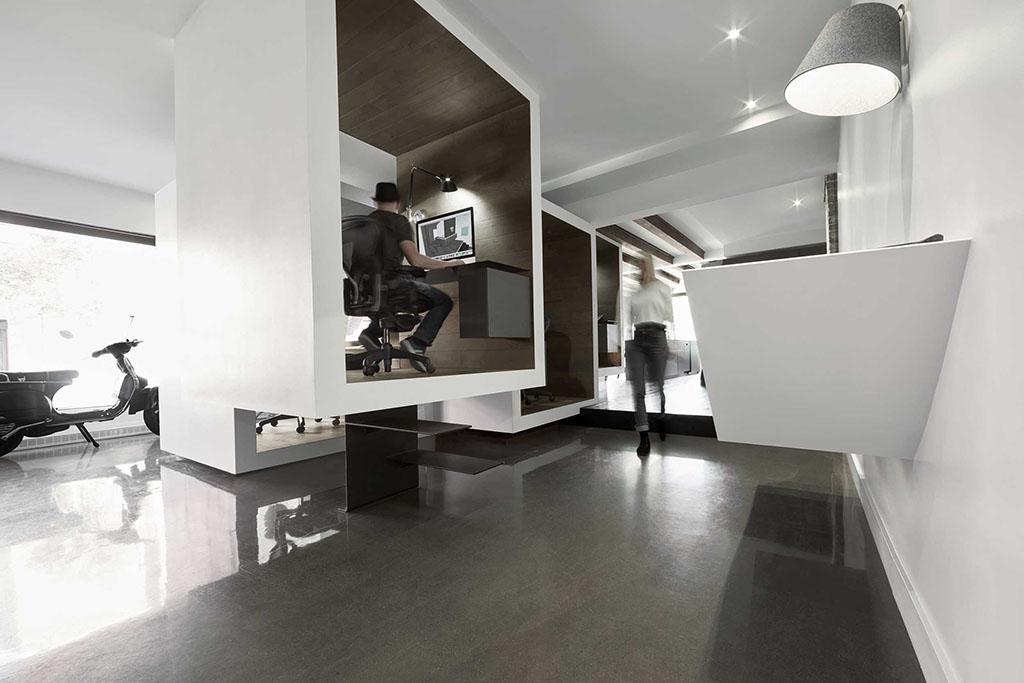 Visite du bureau d 39 architecture d cor dans le sud ouest de - Bureau d immigration du quebec a paris ...
