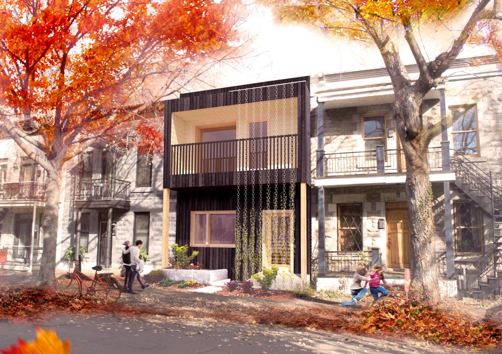 des tudiants montr alais construisent une maison autosuffisante index. Black Bedroom Furniture Sets. Home Design Ideas