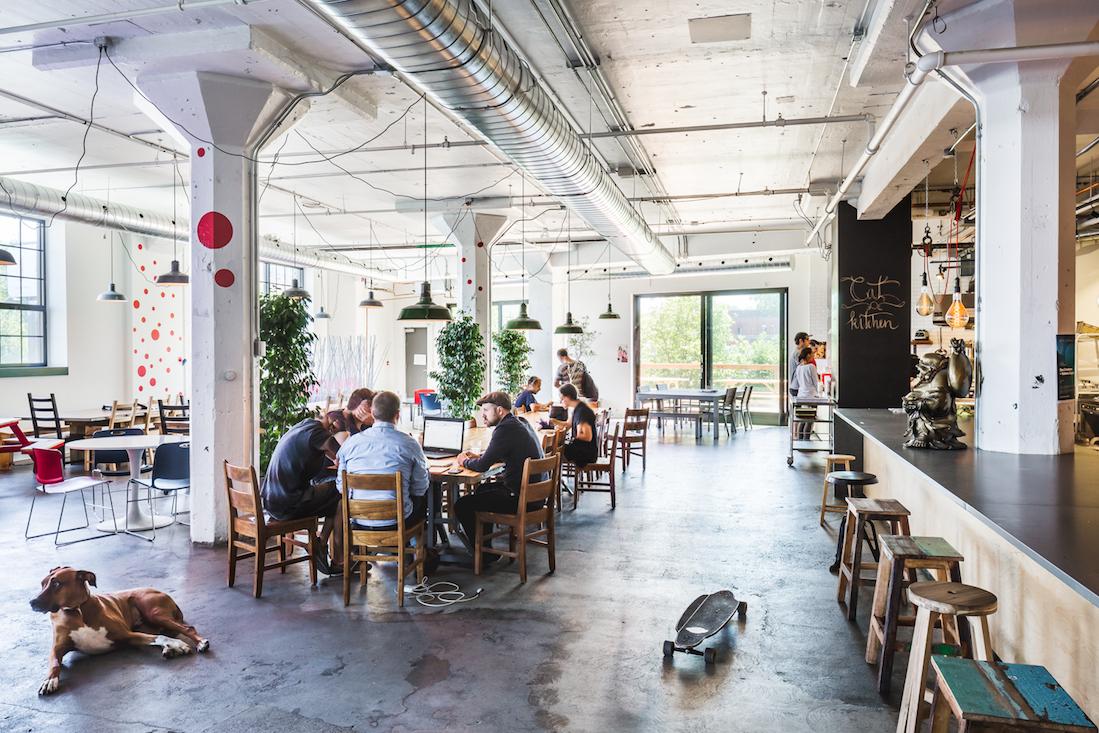bureaux Moment Factory par Mu Architecture