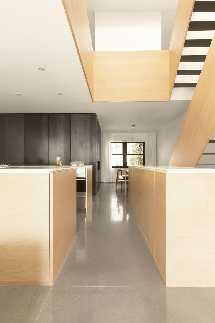La maison lh4 une r sidence moderne par la shed - La residence kitchel par boora architects ...