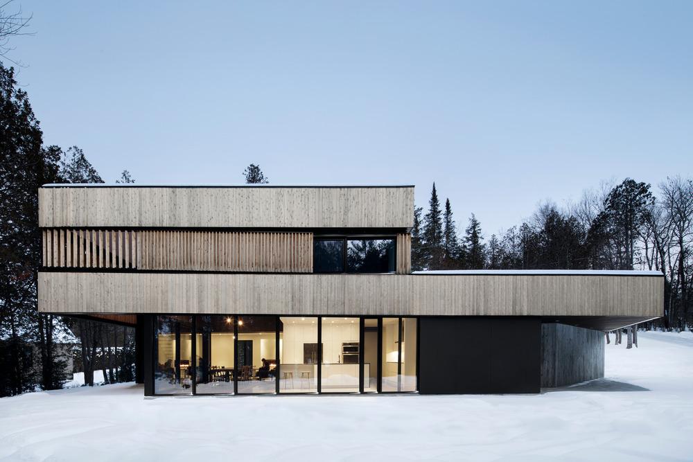 un projet de r sidence secondaire architecturale dans les cantons de l est index. Black Bedroom Furniture Sets. Home Design Ideas