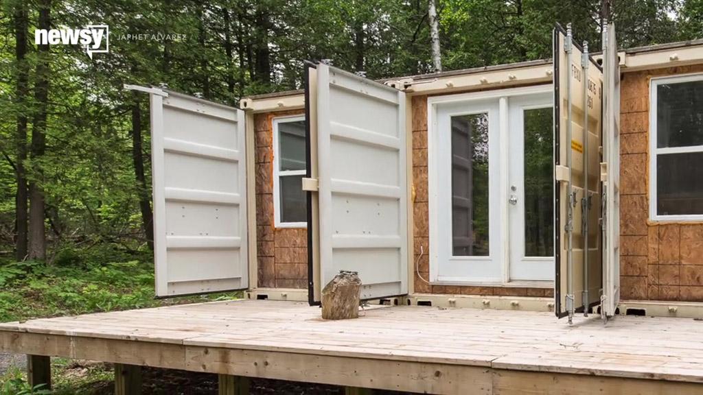 Maison conteneur quebec segu maison for Maison optimum conteneur