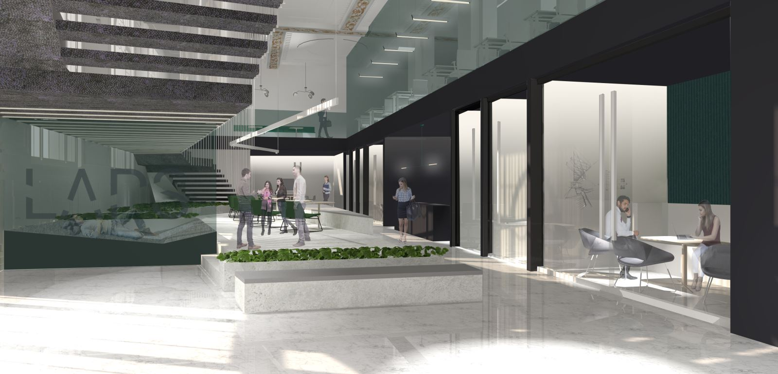 Les designers de la rel ve pr sentent leur projet design for Design interieur universite