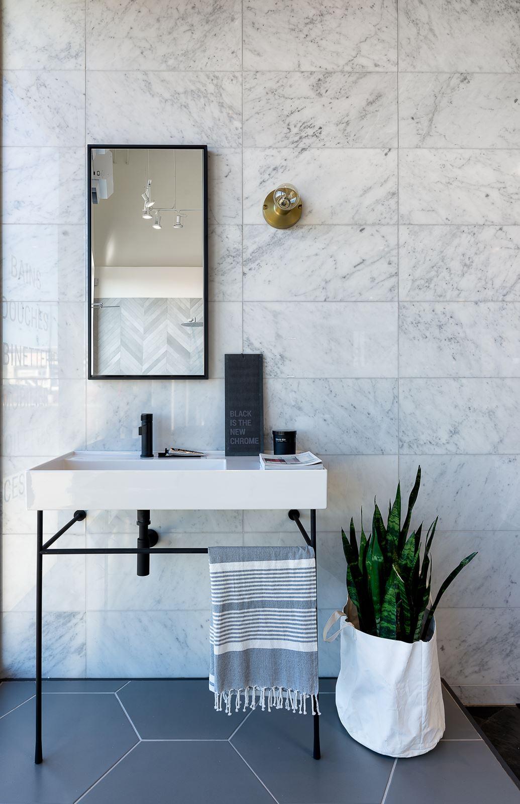Tendances salle de bain : embellir l\'espace avec la robinetterie ...