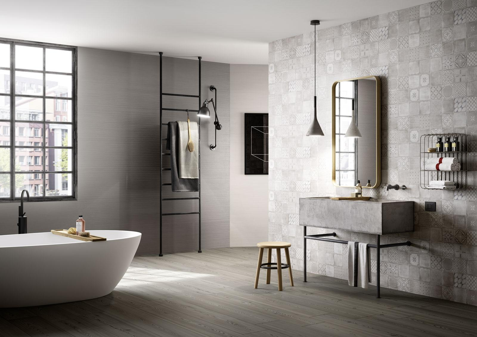 Salle De Bain Industrielle aménagement inspirant : la salle de bain industrielle
